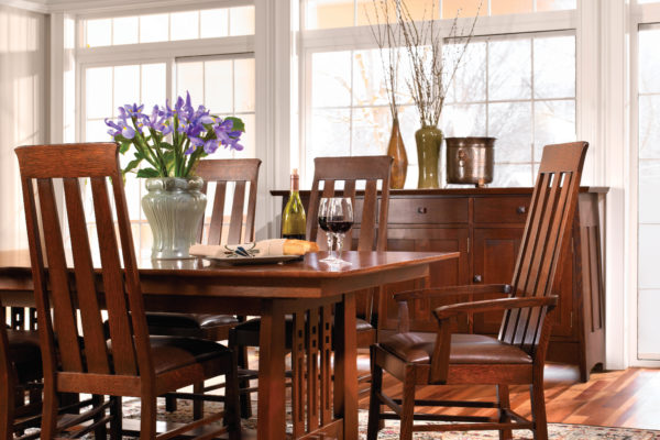 Highlands Trestle Table Dining Room
