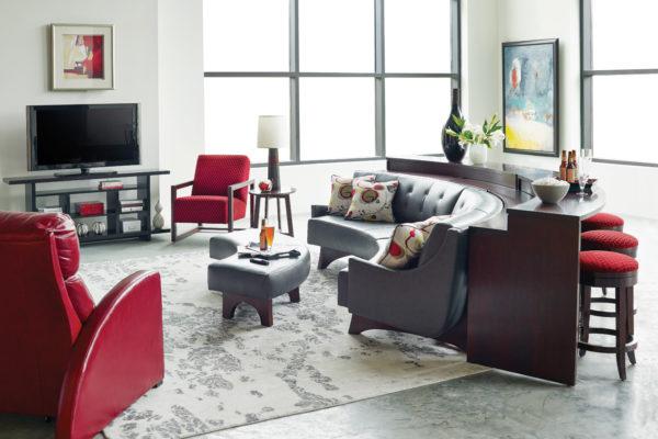 High Line Mid Curve Living Room